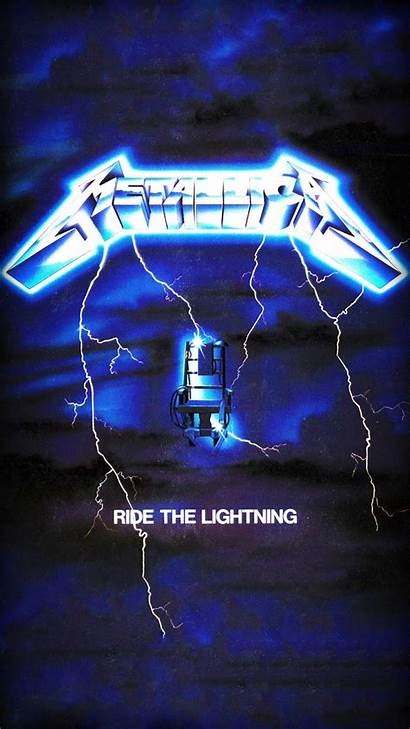 Metallica Lightning Wallpapers Iphone Phone Ride Album