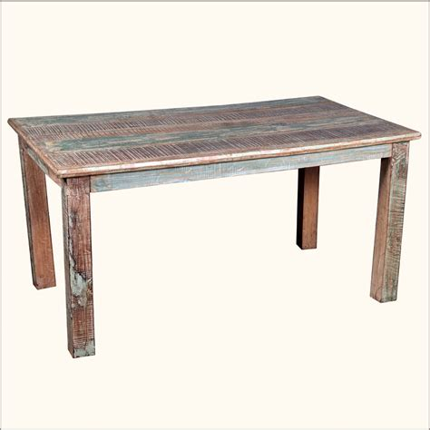 reclaimed wood kitchen table and chairs rustic reclaimed wood distressed kitchen dining table