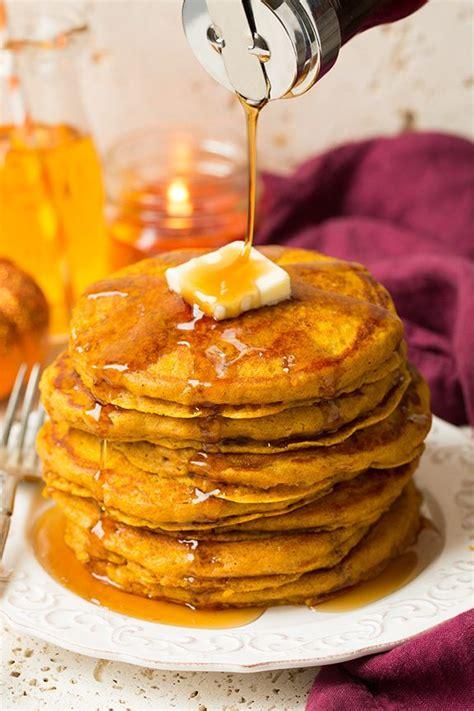 pumpkin pancakes cooking classy
