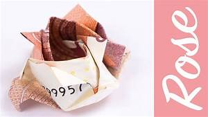 Sonnenschirm Aus Geld Basteln : geld falten rose blume aus geldschein basteln diy ~ Lizthompson.info Haus und Dekorationen