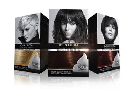John Frieda Launches First Non-drip Home Hair Colour