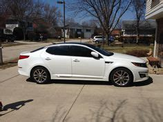 white kia optima  black rims  matthew cole  kia optima post cars