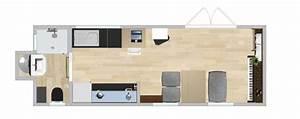 Raum Größer Wirken Lassen Streifen : ein modell des tiny houses im wohnzimmer concection ~ Markanthonyermac.com Haus und Dekorationen