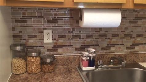 peel and stick kitchen backsplash crystiles diy peel stick backsplash for kitchen and 7389