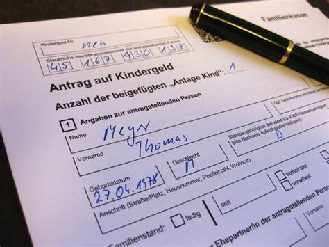 kinderzuschlag formular buerozubehoer