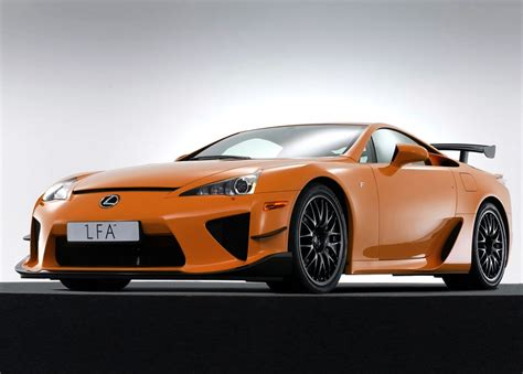 lexus lfa nurburgring package car  catalog
