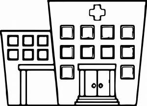 Best Of Hospital Building Coloring Page Design Printable