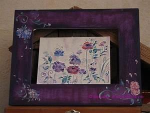 Mon Cadre Photo : mon 1er cadre peint photo de bois peint le sens de ma vie ~ Teatrodelosmanantiales.com Idées de Décoration