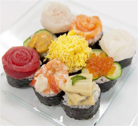 items canape sushi canapés recipe centre
