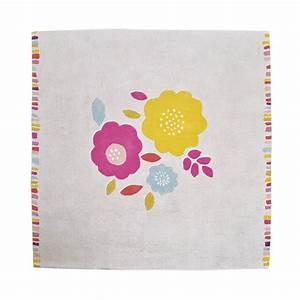 tapis enfant coton secret garden lilipinso 150x150 With tapis chambre bébé avec livraison fleurs ile de france