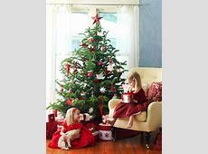 Traditionell geschmückter Weihnachtsbaum Gefällt Ihnen