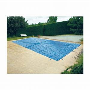 Bache Protection Piscine : bache de protection pour piscine enterre 6x10 metres avec ~ Edinachiropracticcenter.com Idées de Décoration