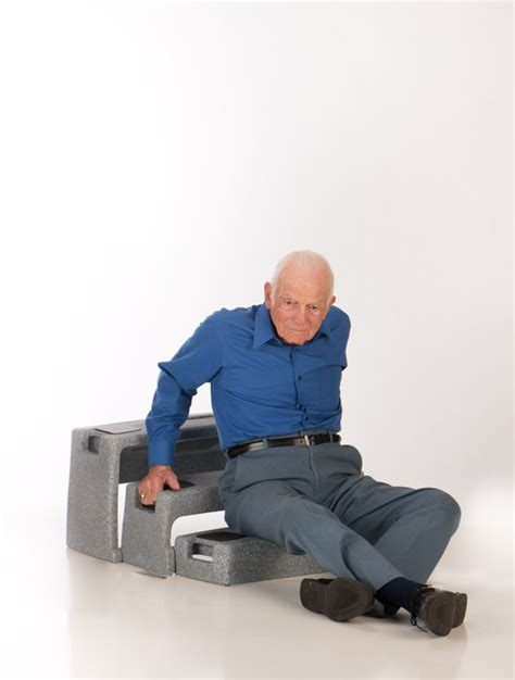 fall recovery and prevention equipment for the elderly