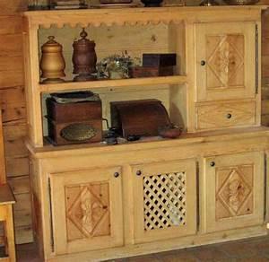 menuisier bois a la demande meubles savoyard With meubles de montagne en bois