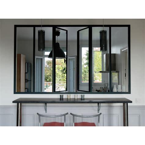 cuisine en aluminium verrière intérieure coulissante en alu sur mesure