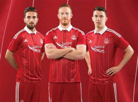 Camisetas Adidas del Aberdeen FC de Escocia 2016/2017