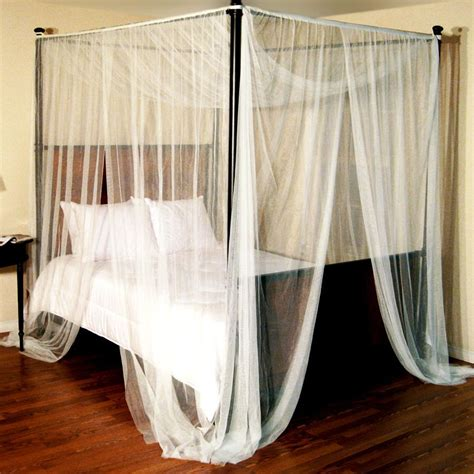 canap beddinge enhance your fours poster bed with canopy bed curtains