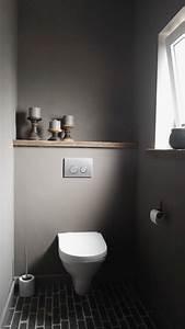 Kleines Wc Fliesen : graues g ste wc kleines bad grau simple modern wohnen pinterest g ste wc kleine b der ~ Markanthonyermac.com Haus und Dekorationen