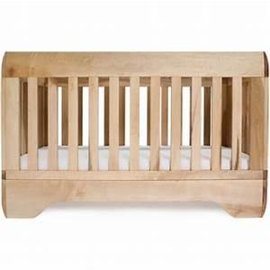 Lit Bois Bebe : lit b b echo bois brut 70x140 bambins d co ~ Teatrodelosmanantiales.com Idées de Décoration
