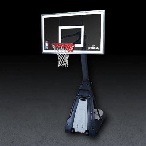 cheap spalding  beast portable basketball hoop