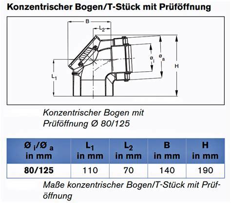 Abgassysteme Fuer Den Raumluftunabhaengigen Betrieb by Buderus Konzentrischer Abgasbogen Revisionsbogen M