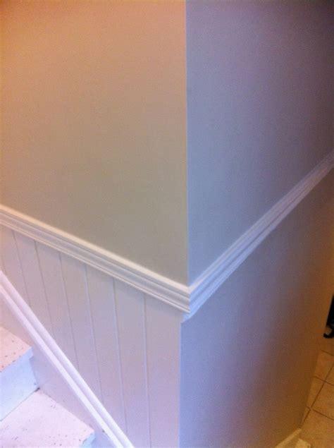 stairwell decorative trim molding upgrades
