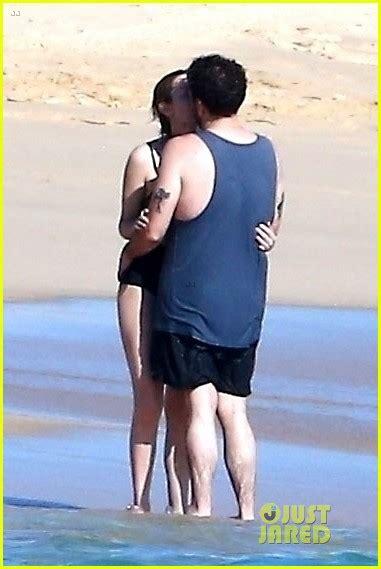 jonah hill kisses  girlfriend   beach  cabo san