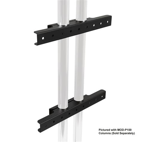 Peerless Ceiling Pole Mount by Peerless Modular Series Dual Pole Wall Mount Interface
