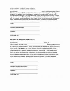 Photo release form template free printable documents for Photography waiver and release form template
