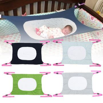 Baby Travel Hammock by Portable Infant Baby Hanging Hammock Folding Cot Bed