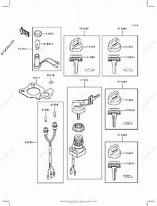 Kawasaki Atv 1993 Oem Parts Diagram For Ignition Switch