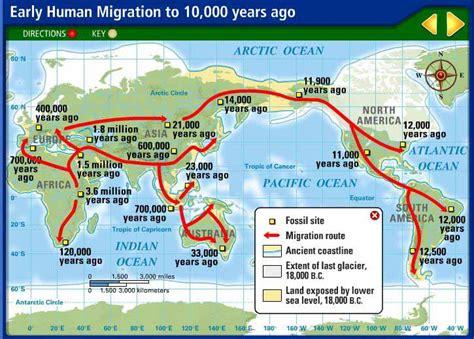 human migration crystalinks