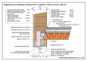 Porotherm detaily