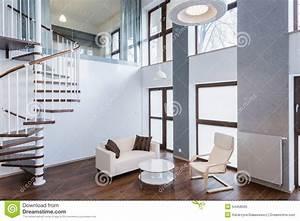 Treppe Im Wohnzimmer : treppe im wohnzimmer in der zeitgen ssischen villa ~ Lizthompson.info Haus und Dekorationen
