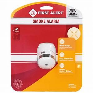 First Alert 10 Year Smoke Alarm Manual
