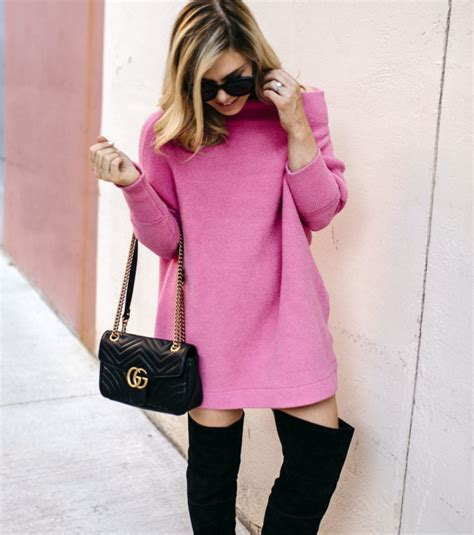 oversized pink sweater the girly oversized slouchy sweater dress allyson in