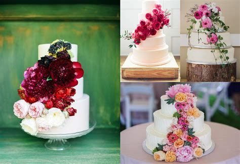 wedding cakes  flowers  fave styles top tips