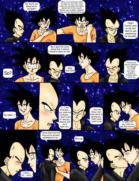 Dbz Fanfic Comic Page 2 By Reitanna Seishin On Deviantart