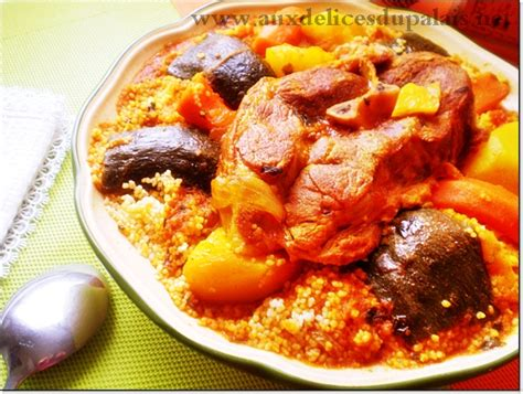 recette cuisine couscous tunisien recette du couscous tunisien