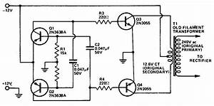 Circuit Diagram Of Inverter Dc To Ac