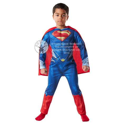superman of steel chest costume