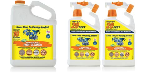roof cleaning products spray forget