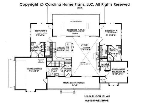 small country ranch style house plan sg  sq ft affordable small home plan   sq