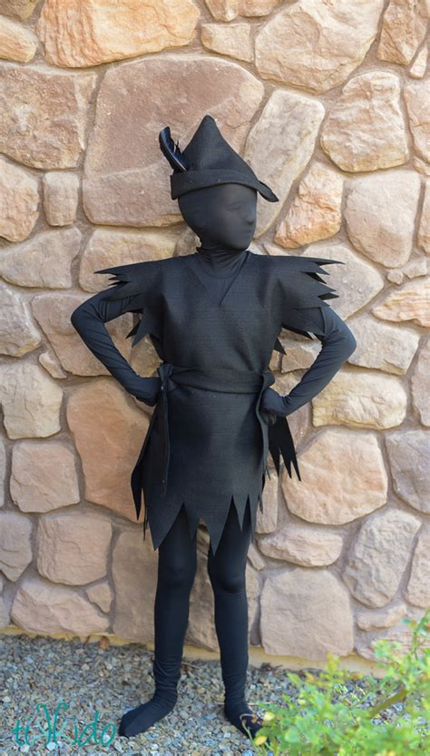 peter pans escaped shadow costume fun family crafts