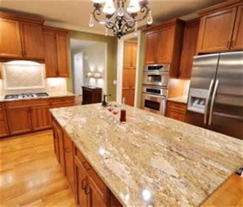 oak cabinets granite and granite countertops on