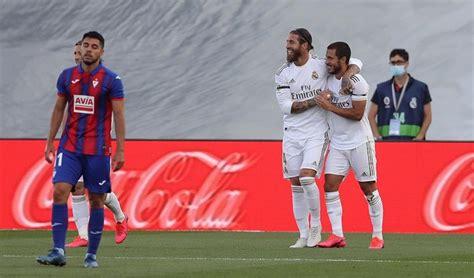 Resultado Real Madrid vs Eibar resultado de hoy por fútbol ...