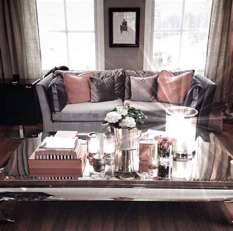 soft pink grey silver cozy living room living room ideas