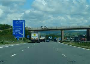 M6 Junction 35 © Andy Farrington cc-by-sa/2.0 :: Geograph ...