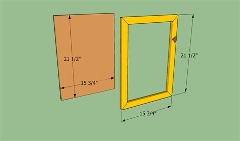 cabinet door construction types build cabinet doors with router furnitureplans