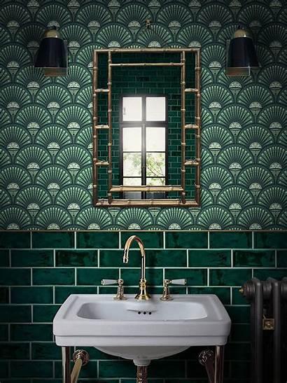 Bathroom Bathrooms Tile Wall Paper Designer Quirky